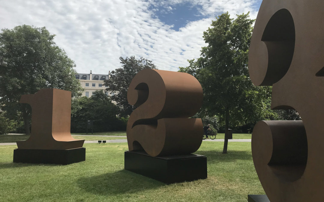 Summer Throwback!   Frieze19, Sculpture in the Park